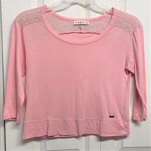 Abercrombie & Finch Crop Top Size XS Pink